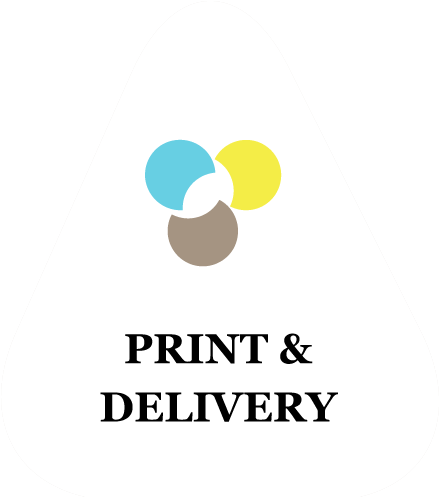 button print and delivery