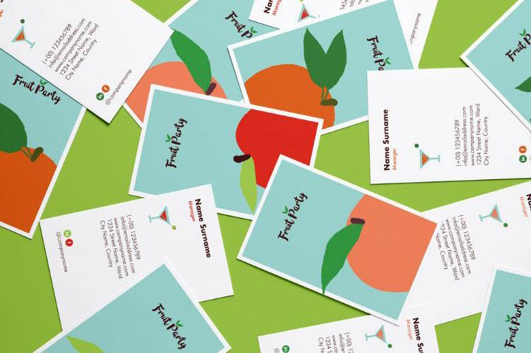 Juice Bar Brand Design & Illustrations