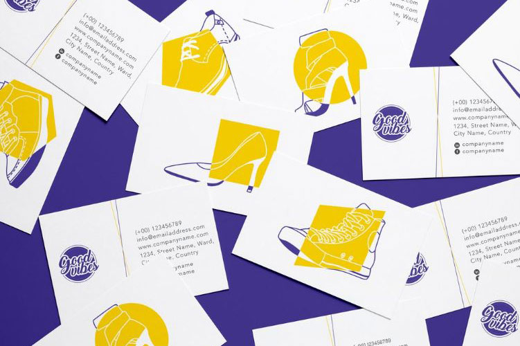 Shoe Store Brand Design & Illustrations