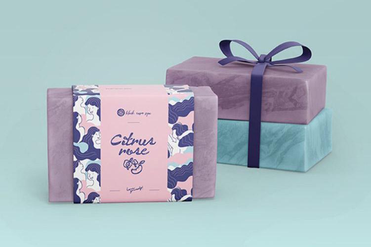 Black Rose Spa Brand Design & Illustrations & Pattern