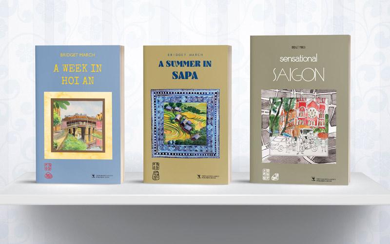 Bridget March Hoi An Sapa Saigon book covers