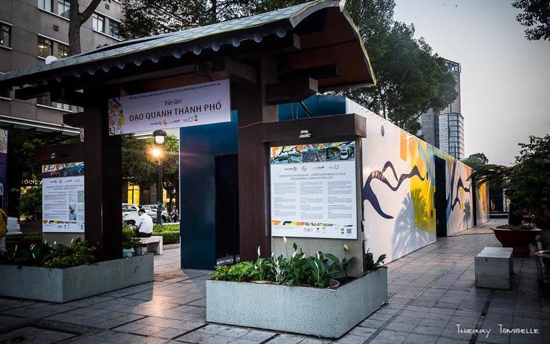 Paddi Vietnam Event Graphics Exhibition Rivers Panels