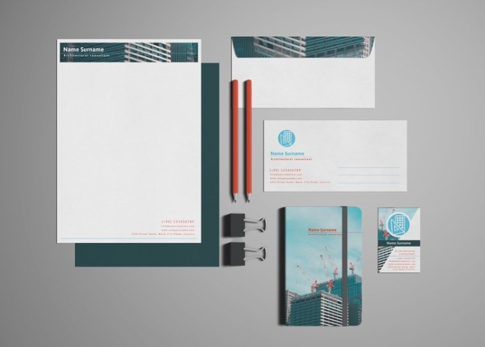 Architectural Consultant_Stationery Design