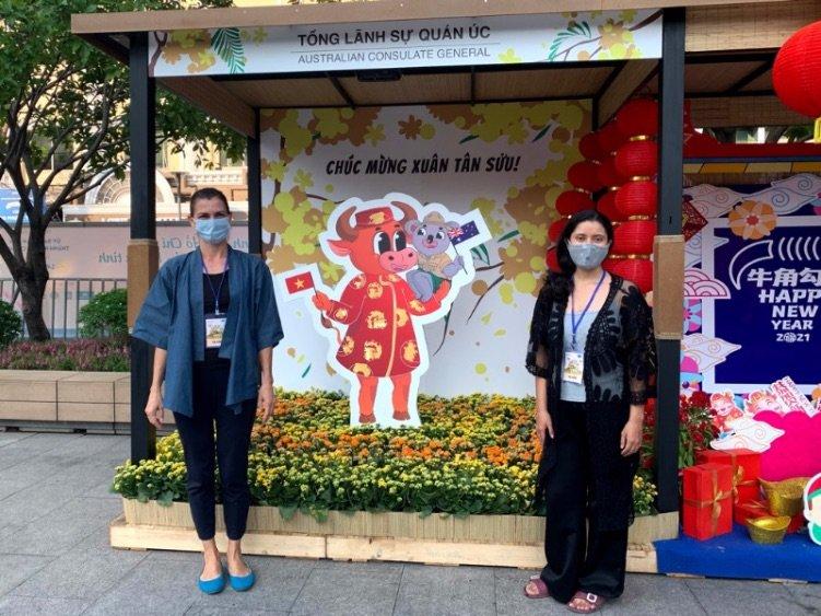 Australian Consulate Tet Booth