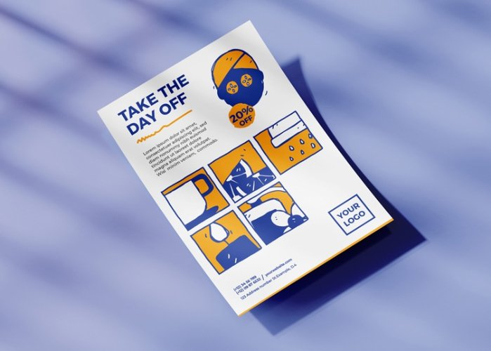 Day off Spa_Stationery & Icons Design