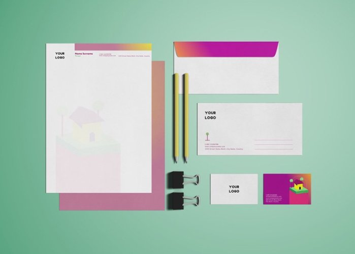 Life Insurance_Stationery Design