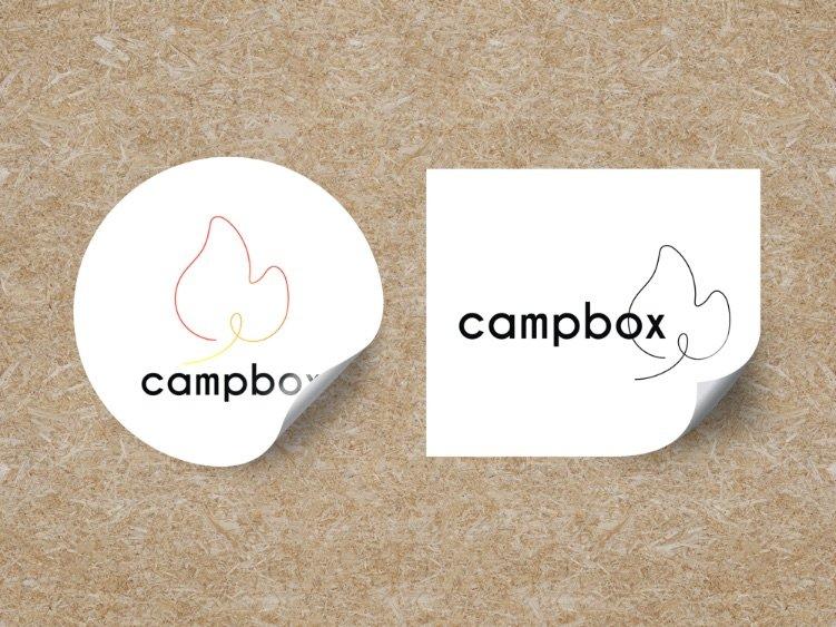 Campbox Stickers Design