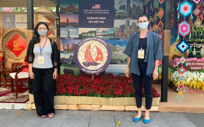 US-Consulate-Tet-Booth-AYA-Team